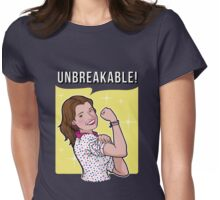 Unbreakable! Womens Fitted T-Shirt