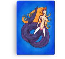 ECO mermaid Canvas Print