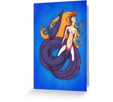 ECO mermaid Greeting Card