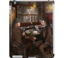 Police - The private eye - 1902  iPad Case/Skin