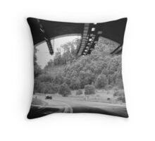 Tunnel Vision...! Throw Pillow