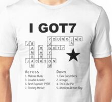 GOT7 Crossword Puzzle Unisex T-Shirt