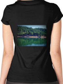 silhouette dance  Women's Fitted Scoop T-Shirt