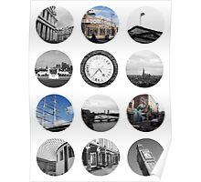London Snapshots Poster