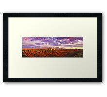 Settler's Ruin, Flinders Ranges, South Australia Framed Print