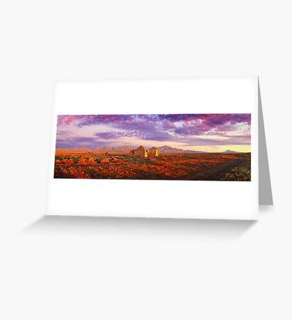 Settler's Ruin, Flinders Ranges, South Australia Greeting Card
