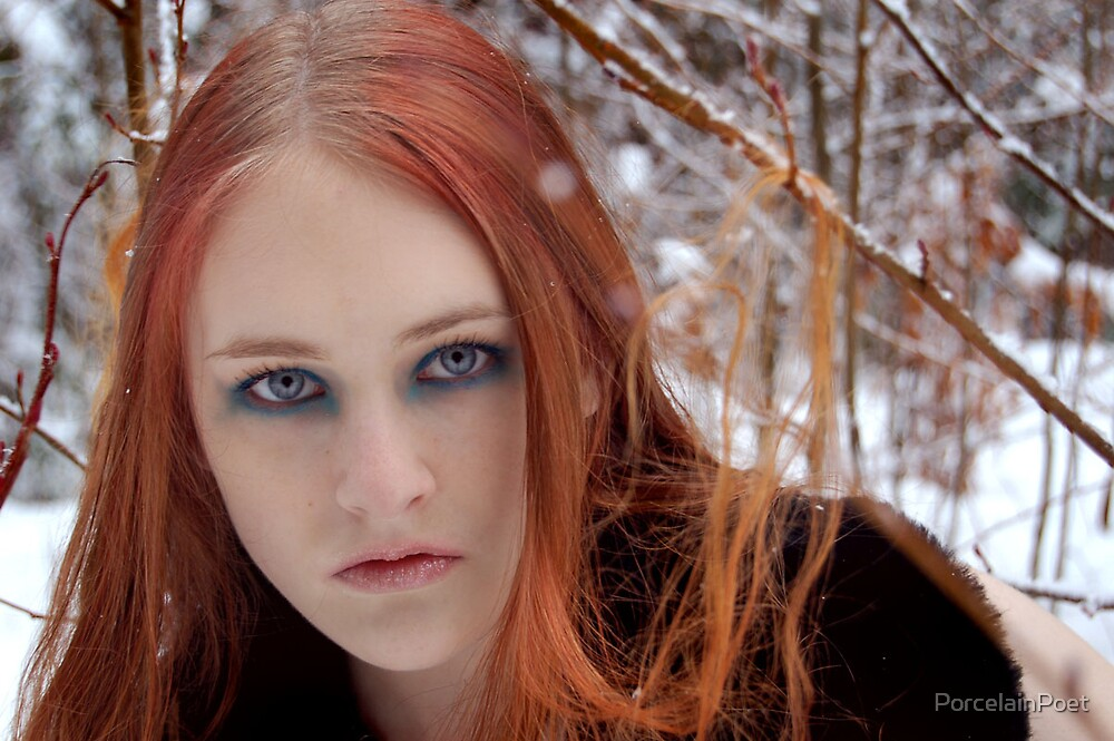 Snow Fae by PorcelainPoet