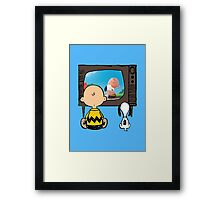 Watch Themselves Framed Print