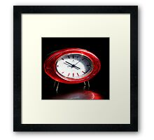 And Then the Clock Turns... Framed Print