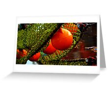 Pieces of a Commercial Fishing Vessel #3 Greeting Card