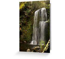 Beauchamp Falls Otways Greeting Card