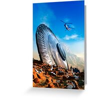 Arizona UFO crash Greeting Card