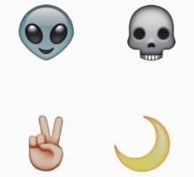 COOL AF // Emoji Set by waverlie