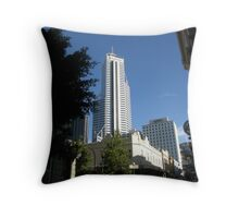 Skyscraper Viewed From The City Streets. Perth. Throw Pillow