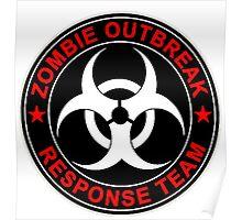 Zombie Response Team Bio Hazard Poster