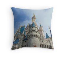 Cinderella's Castle- Magic Kingdom Throw Pillow