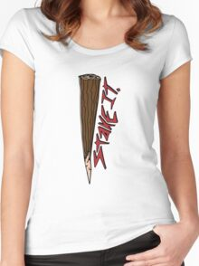 Just put a Stake in it Women's Fitted Scoop T-Shirt