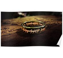 The Lord of the Rings - Sauron's Ring Poster