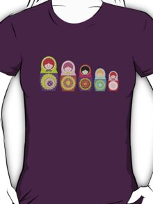 Russian dolls kawaii T-Shirt