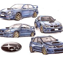 Subaru evolution ? by Alleycatsgarden