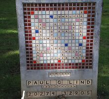 Crossword Headstone by AuntieBarbie