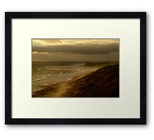 13th Beach Framed Print
