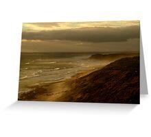 13th Beach Greeting Card