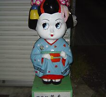 Geisha Doll, Kyoto by Lulu Parent