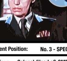 Rosa Klebb - Number 3 Trump Card Sticker
