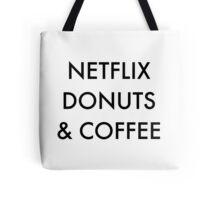 Netflix Donuts & Coffee Tote Bag