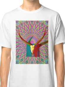 Psychedelic Horns Classic T-Shirt