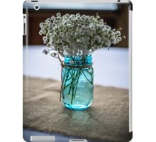 Jar of Flowers iPad Case/Skin