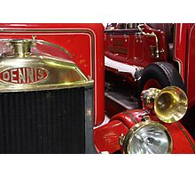 Fire truck Photographic Print