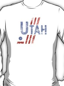 Utah Hockey Vintage T-Shirt