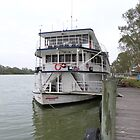 'Proud Mary' River Boat, Murray River, 'Mannum! Sth. Aust. by Rita Blom