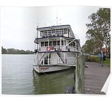 'Proud Mary' River Boat, Murray River, 'Mannum! Sth. Aust. Poster
