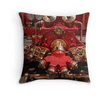 The Red Office Throw Pillow