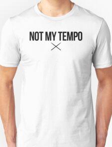Whiplash - Not My Tempo - Black Clean T-Shirt