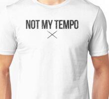 Whiplash - Not My Tempo - Black Dirty Unisex T-Shirt