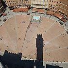 Il Campo, Siena by David Clarke