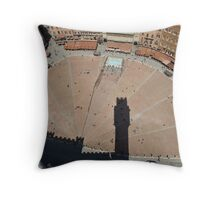 Il Campo, Siena Throw Pillow