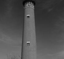 Little Sable Point Light, Due East by Chris Coates