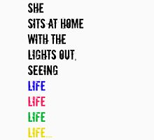 Seeing Life in Different Colors Womens Fitted T-Shirt