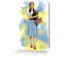 Dorothy Gale watercolors Greeting Card