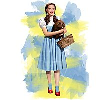 Dorothy Gale watercolors Photographic Print