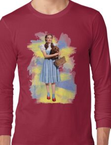 Dorothy Gale watercolors Long Sleeve T-Shirt