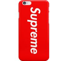 Red Supreme Media Cases, Pillows, and More. iPhone Case/Skin