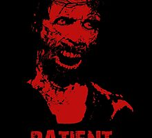 Patient Zero - Zombie Jesus - Red by d3mentedhobo