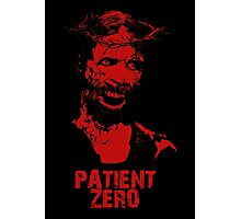 Patient Zero - Zombie Jesus - Red Photographic Print