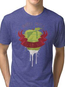 Apple Juice 4 James Tri-blend T-Shirt